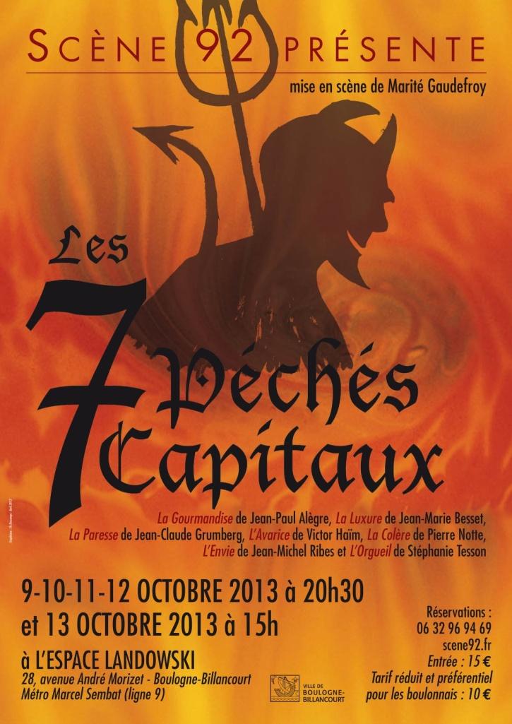 A3 Les 7 peches capitaux Boulogne
